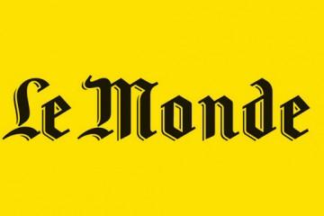 Le journal Le Monde et le théâtre
