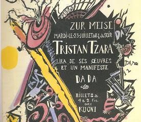 "Exposition ""Dada Universal"" au Landesmuseum de Zurich, jusqu'au 28 mars."