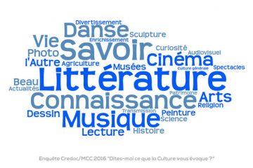 Que recouvre le terme de « culture » dans l'esprit des Français ?