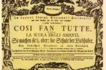 Cosi fan tutte de Mozart à l'opéra de Rouen