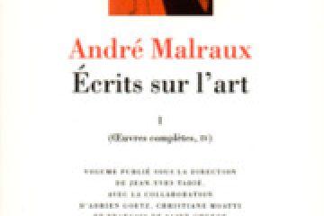 Malraux et l'art