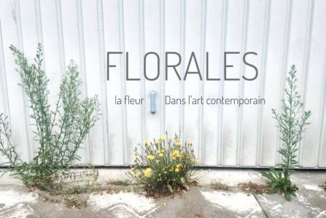 Exposition Florales – la fleur dans l'art contemporain