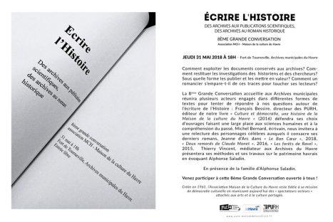 Ecrire l'histoire. Des archives aux publications scientifiques, des archives au roman