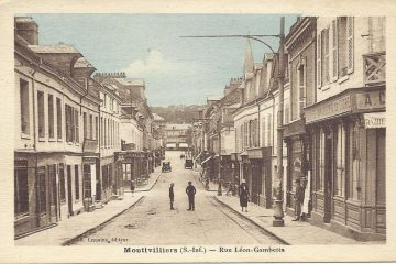 Montivilliers, années 1930 : une ville à la campagne