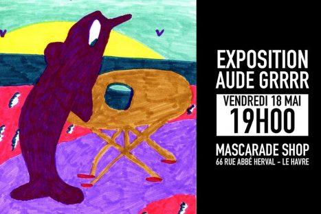 Exposition AUDE GRRRR