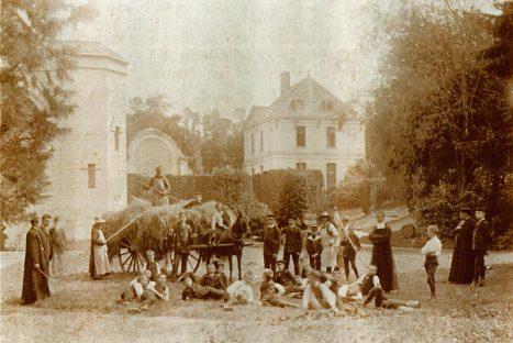 L'occupation laïque de l'abbaye de St Wandrille de la fin du 18ème au milieu du 19ème siècle