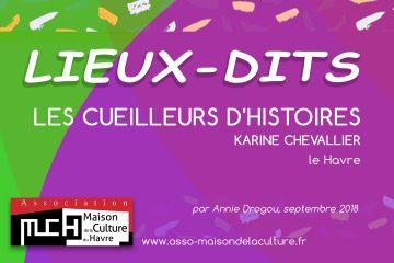 LIEUX-DITS – Association les Cueilleurs d'Histoires