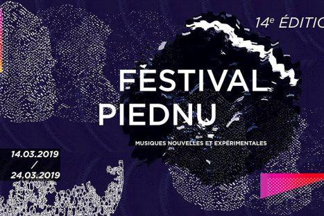 Festival PIEDNU musiques nouvelles et expérimentales du 14 au 24 mars 2019