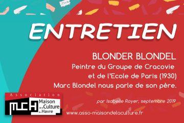ENTRETIEN – Blonder Blondel