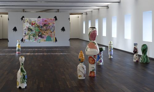 Vue de l'exposition RUFUS de Florentine et Alexandre Lamarche-Ovize au Frac Normandie Caen du 18 janvier au 24 mai 2020 (c) Marc Domage
