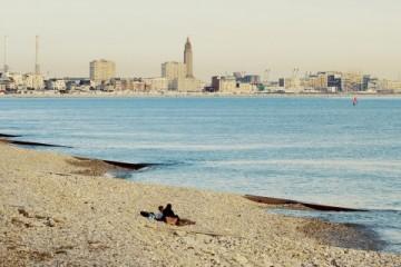 Le Havre, de  la plage à la page