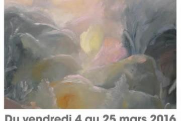 Vernissage de l'exposition d'Alain Santschy
