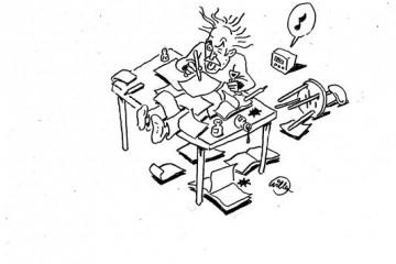 Les archives du  dessinateur Willem à la BNF