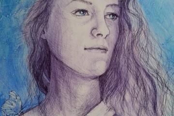 Portraits d'artistes liés au Havre : Clairelise Chobelet et Yvan Duruz