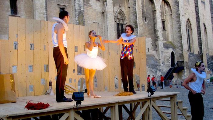 """"""" Avignon 2015 - Lear miniature - Olivier Py """" Crédits photo : Catherine Désormière"""