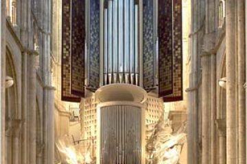 Liszt « Fantaisie et fugue sur Ad nos ad salutarem undam » , transcription pour orgue et brass band