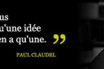 Conférence Claudel et Rimbaud