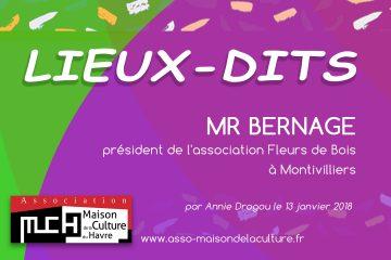 LIEUX-DITS  Mr Bernage
