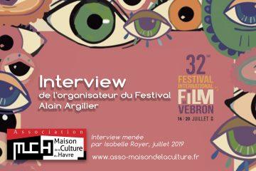 FESTIVAL DU FILM DE VEBRON – Alain Argilier