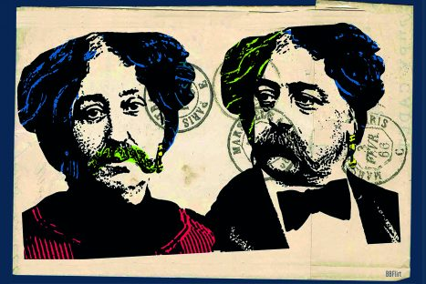 Correspondance : George Sand & Gustave Flaubert / Cie Akté