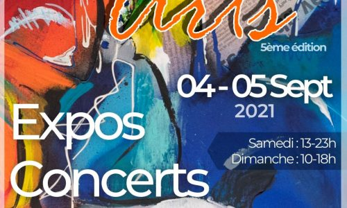 Affiche Festiv'Arts 2021_